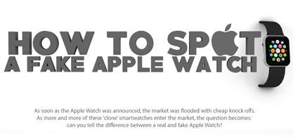 Cómo detectar un falso reloj de Apple